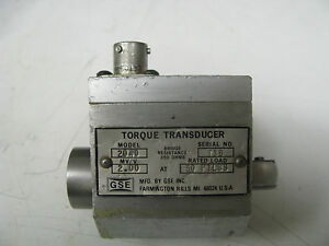 Gse Socket Wrench Torque Transducer 50 Ft Lbs Gse7