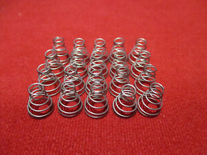 Aa Battery Spring Contact Terminal Lot Of 20