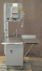 Hobart 5214 2hp Meat Band Saw Bone Commercial Butcher