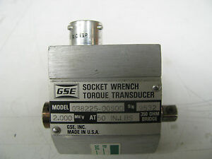 Gse Socket Wrench Torque Transducer 50 In Lbs Gse2