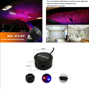Home Car Interior Roof Led Blue red Star Light Projector Decorative Galaxy Lamp
