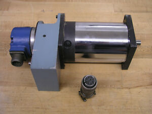 Electrocraft E 703 Dc Brush Servomotor Shaft Coupling Drc Encoder W Connector