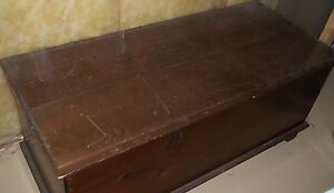 1930 S Wide Pine Hope Chest Blanket Chest
