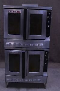 Blodgett Dfg 100 Nat Gas Double Stack Full Size Deck Convection Bakery Oven