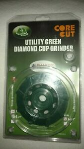 Diamond Products 4 x5 8 11 X 9 Segment Utility Green Spiral Turbo Cupweel Grind
