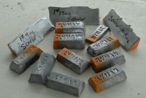 Soft Lead Ingots 15 lbs 98% Pure Bullet Sinker or Hobby Casting
