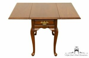 Bassett Furniture Solid Cherry Pembroke Drop Leaf End Table 6086 666