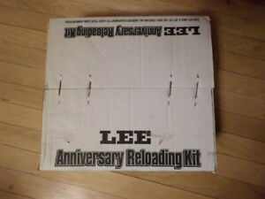 NIB Lee Anniversary Reloading Kit Challenger O Frame Press 90174