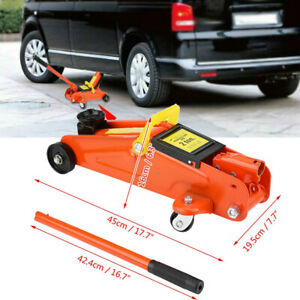 2t High Capacity Car Lift Hydraulic Jack Automotive Lifter Trolley Jack