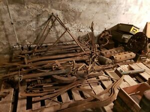 Huge Lot Of Vintage Antique Ford Model T Parts Axles Etc Local Pickup