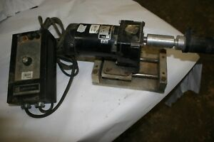 Bodine Dc Motor With Drive 130 V 83 Rpm 1 4 Hp With Drive