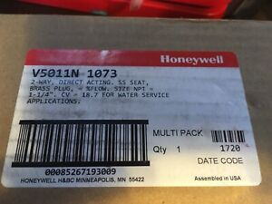 Honeywell 1 1 4 Two way Globe Valve V5011n 1073