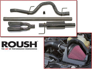 2011 2014 Ford F 150 F150 5 0l 5 0 L Roush Exhaust Cold Air Intake Kit