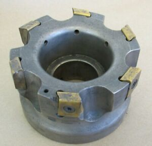 4 Ingersoll Indexable Face Mill Cutter 1 5 Arbor Sj6n 04r01 3026800 b