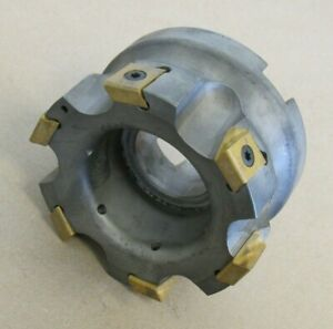 4 Ingersoll Indexable Face Mill Cutter 1 5 Arbor Sj6n 04r01