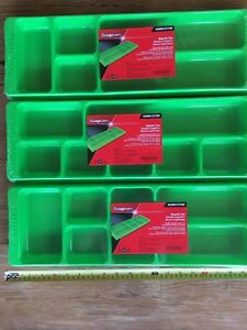 Snap On Green Parts Trays 3 Magnetic Trays