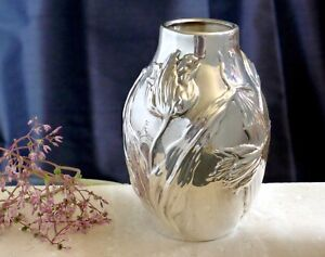 Rare Tiffany Co Sterling Tulip Vase Original Early 1900 S Antique 6 Inches