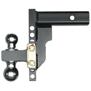 17202 Husky Liners Adjustable Trailer Hitch Ball Mount 8 Drop With 2 Shank