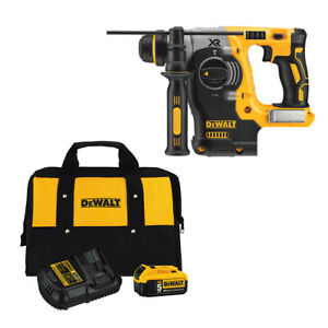Dewalt Dch273b 20v Sds 1 Rotary Hammer With Free Dcb205ck Battery Charger Kit