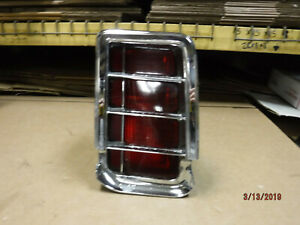 Oem 1966 Cutlass Rh Taillight Assy W Lens Olds 66 F 85 442 Supreme Oldsmobile