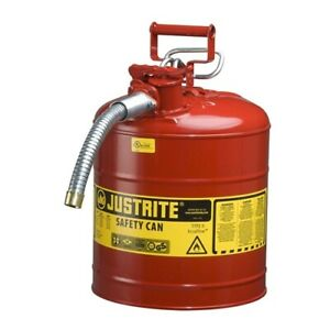 Justrite 7250130 5 Gallon Accuflow Safety Can