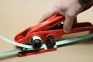 new 1 2 Manual Strapping Tensioner For Poly Plastic Strap Strapping Bander