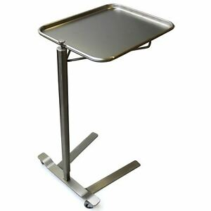 New Stainless Steel Mcm760 Surgical Mayo Stand 12 5 8 X 19 1 8 Tray