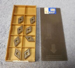 Iscar Carbide Inserts Dnmg 433 gn Pack Of 8 Grade Ic8150