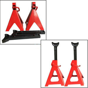 Adjustable Durable Heavy Duty 6 Ton Car Floor Lift Mechanical Jack Stand 1 Pair