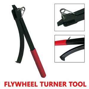 Flywheel Turner Turning Tool Wrench Flex Plate Holder For Vehicles Car Suv Truck