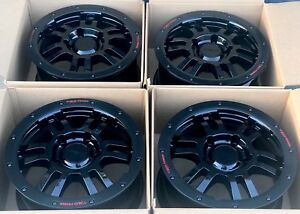 17 Toyota Tundra Trd Rock Warrior Rims Factory Oem Wheels Black 17 Trd 2007 Up