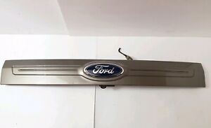 2011 2014 Ford Edge Rear Trunk Hatch Moulding Trim Camera Oem Mineral Gray