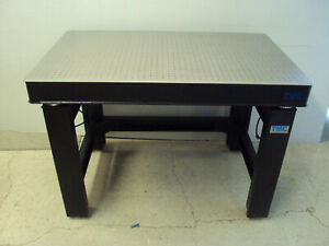 Tested Crated Tmc Micro g Vibration Isolation 47 Optical Table Breadboard Lab