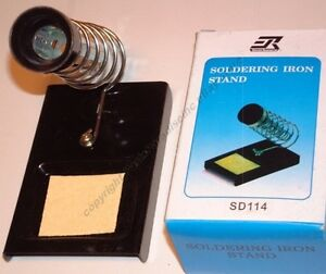 Lot10 Solder soldering Iron Stand station sponge Tray