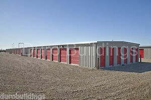 Duro Steel Mini Self Storage 40x180x8 5 Metal Modular Building Structures Direct