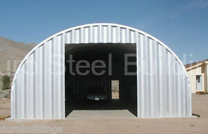 Durospan Steel 25x30x14 Metal Building Shed Diy Home Garage Workshop Kits Direct