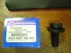 Mopar Performance P5249557 Crankshaft Bolt Washer Small Big Block 360 426 440
