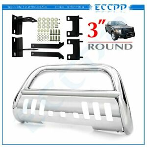 Front Chrome For 2007 2013 Chevy Silverado 1500 Chrome Bull Bar Grille Guard