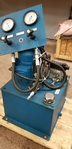 Hydraulic Power Unit 2hp 3 Phase Excellent Condition