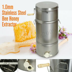 Stainless Steel 2 Frame Ss Bee Supply Honey Extractor Honeycomb Honey Centrifuge