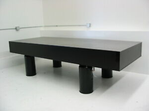 Tested Crated Newport Optical Table W Pneumatic Self Level Isolation Breadboard