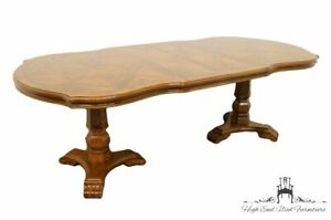 Universal Furniture Spanish Revival Double Pedestal 90 Dining Table 81121