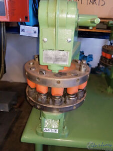5 Ton Used Wiedemann Hand Turret Punch R 2 A4145
