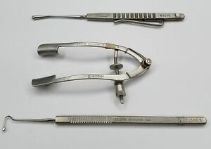 Storz 3 Piece Ophthalmic Instrument Set