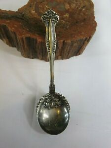 1901 Avon Rogers Silver Plate Berry Potato Salad Serving Spoon