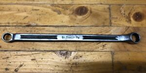 Vintage Snap On Offset Box Wrench 3 8 X 7 16 12 Point Xv 1214 Good