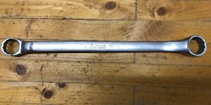 Vintage Snap On 7 8 X 15 16 Box End 12 Point Wrench 10 Offset Xb2830 Nice