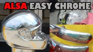 Easy Chrome Paint By Alsa Spray Or Brush On