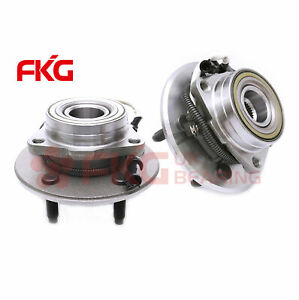 2 Front Wheel Hub Bearing Assembly For 00 04 F150 Truck 4x4 4wd W abs 515029