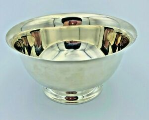 Currier And Roby Sterling Silver Paul Revere Replica Bowl 5